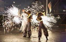 2011 fest пожар kiev Стоковые Изображения RF