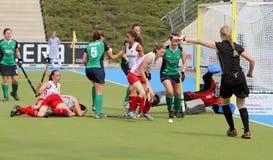 2011 filiżanka England europejski Germany hokejowy Ireland v Obraz Stock