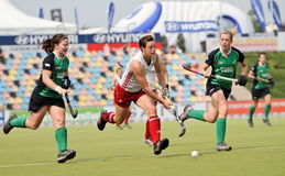 2011 filiżanka England europejski Germany hokejowy Ireland v Fotografia Stock
