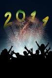 2011 flyer Stock Photo