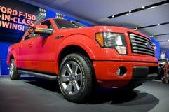 2011 Ford F150 Truck at NAIAS royalty free stock photo