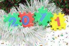 2011 Gelukkig Nieuwjaar Royalty-vrije Stock Afbeelding