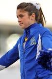2011 gioco del calcio del NCAA - ragazza pon pon Immagine Stock