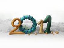 2011 glada jul Arkivfoton