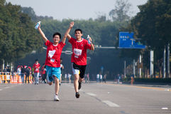 2011 half internationell maraton zhuhai Royaltyfri Bild