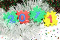 2011 Happy New Year Royalty Free Stock Image