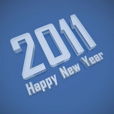 2011 Happy New Year Royalty Free Stock Images