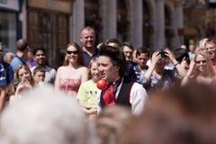 2011 het Festival van de Hoed van Winchester Stock Foto's