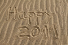 2011 heureux Image stock