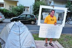 2011 Housing Protests in Israel Royalty Free Stock Image