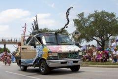 2011 Houston Art Car Parade stock photo