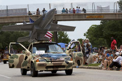 2011 Houston Art Car Parade Stock Image