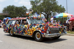 2011 Houston Art Car Parade Royalty Free Stock Image