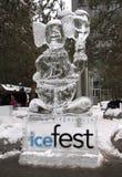 2011 icefest多伦多 免版税库存照片