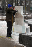 2011 icefest toronto Стоковое Изображение