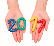 2011 Jaar Royalty-vrije Stock Foto's