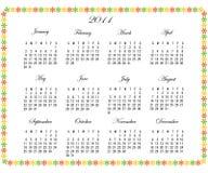 2011 kalendarz Zdjęcie Stock