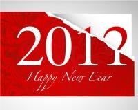 2011 karciany nowy rok Ilustracja Wektor