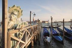 2011 karnawałowych tradycyjnych venetian Obrazy Royalty Free