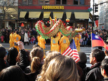 2011 kinesiska drakefestival Arkivbild