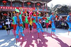 2011 kinesiska ganska tempel arkivbild