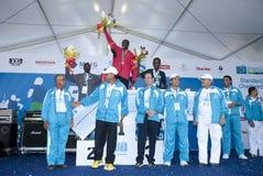 2011 kl maratonu zwycięzca Zdjęcia Stock
