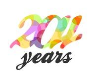 2011 in kleur Royalty-vrije Stock Fotografie