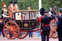 2011 królewski królowa ślub Zdjęcia Royalty Free