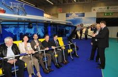 2011 krzesła Innsbruck interalpin dźwignięcie Zdjęcia Royalty Free