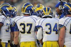 2011 le football de NCAA - groupe Image stock