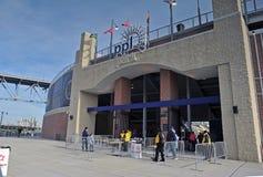 2011 le football de NCAA - stationnement de PPL, Chester, PA Photos stock