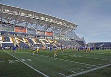 2011 le football de NCAA - stationnement de PPL, Chester, PA Images stock