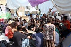 2011 läger lisbon kan rossioen Royaltyfri Foto