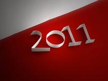 2011 logo Obraz Royalty Free