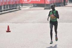 2011 London maratonu dziewica Zdjęcia Royalty Free