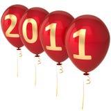 2011 lyckliga höga nya res-år Royaltyfria Bilder