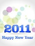 2011 lyckliga nya år Arkivbild