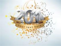 2011 lyckliga nya år Vektor Illustrationer
