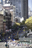 2011 marathon de New York City - Manhattan Image libre de droits