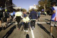2011 marathon de New York City - Manhattan Photographie stock