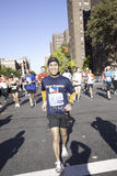 2011 maratona di New York City - Manhattan Fotografie Stock