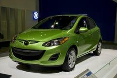 2011 Mazda 2 bij NAIAS Royalty-vrije Stock Afbeeldingen