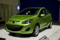 2011 Mazda 2 at NAIAS Royalty Free Stock Images