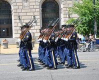 2011 Memorial Day Parade. Royalty Free Stock Images