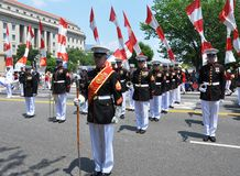 2011 Memorial Day Parade. Stock Photography