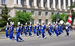 2011 Memorial Day Parade. Stock Photo