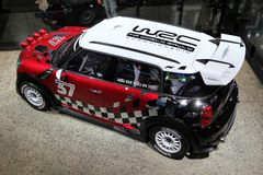 The 2011 Mini Cooper WRC Royalty Free Stock Image