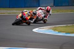 2011 MotoGP van Japan Stock Foto's