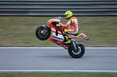 2011 MOTOGP WINTER TESTING: VALENTINO ROSSI Royalty Free Stock Image