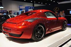 2011 motorshow porshe Qatar Obrazy Stock